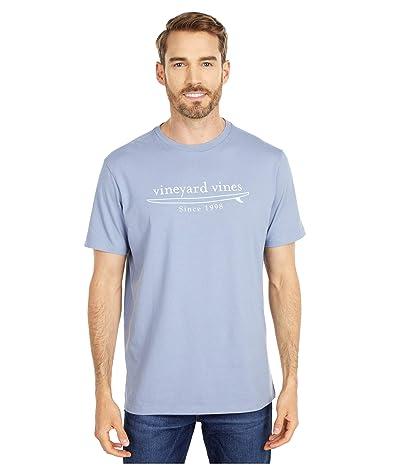Vineyard Vines Short Sleeve Simple Surf Logo T-Shirt (Summer Evening) Men