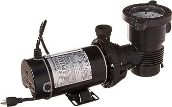 Pentair 347990 OptiFlo Vertical Discharge Aboveground Pool Pump with 2 Speed Motor and Standard Plug, 1 HP