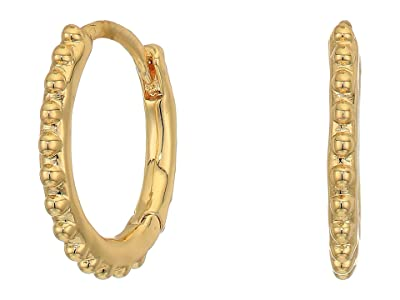 gorjana Bali Huggies Earrings (Gold) Earring