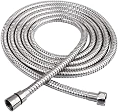 Boosni 1.5m Shower Hose Stainless Steel Flexible Handheld Showerhead Replacement Hose