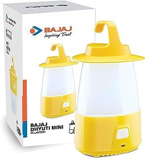 Bajaj Dhyuti Mini RC Lantern (610054_Yellow)