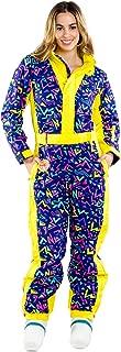 neon ski suit mens