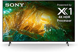 Sony X800H 75 Inch TV: 4K Ultra HD Smart LED TV with HDR and Alexa Compatibility - 2020 Model