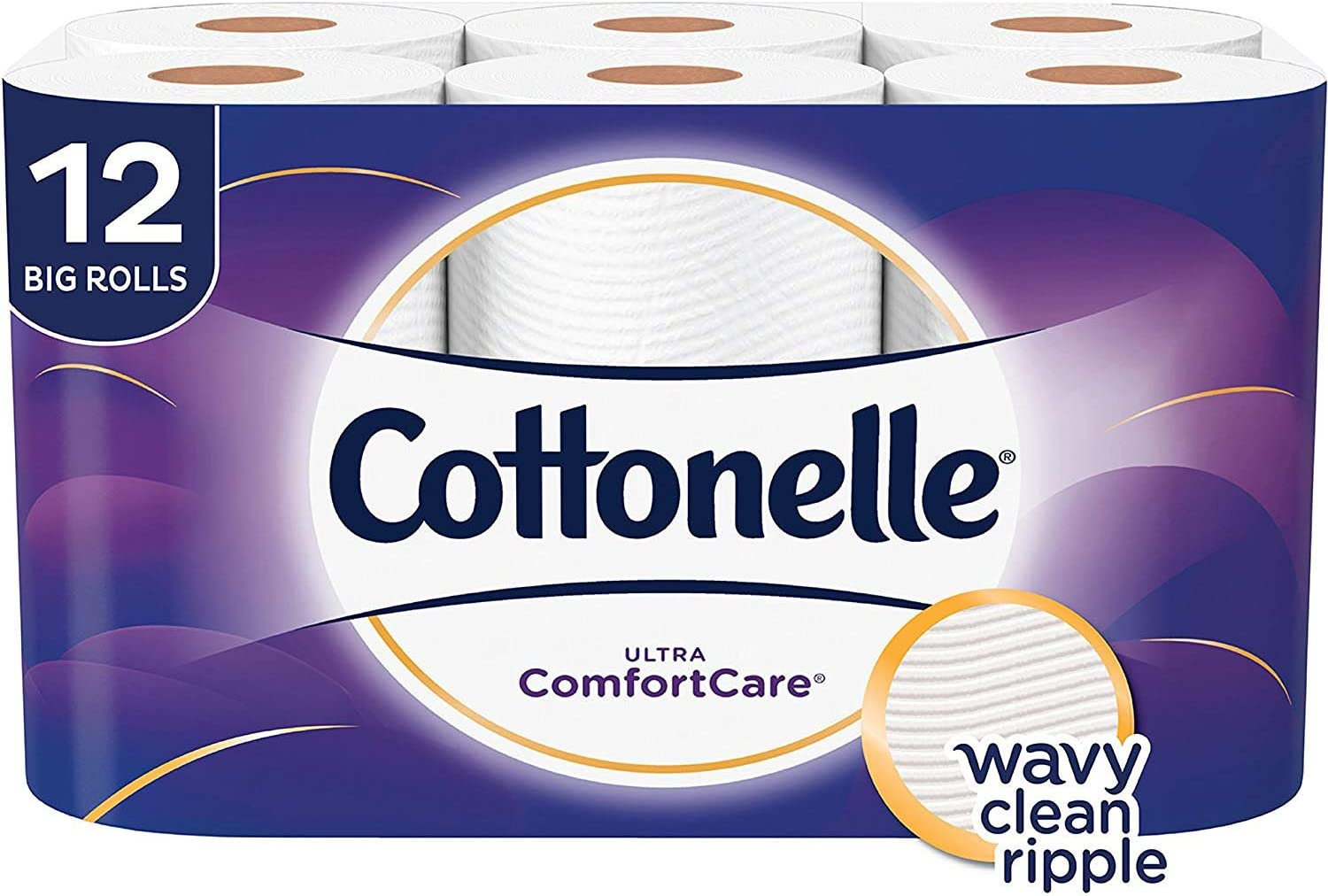 Cottonelle Ultra Comfort Care Toilet Paper, Big Roll, 12 Count : Health & Household