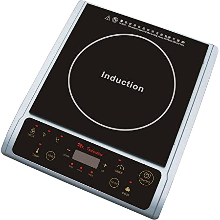 1300 Watts Induction Cooktop (Silver)