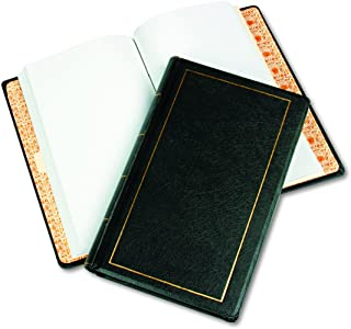 Wilson Jones Corporate Minute Book, Legal Size 8.5 x 14 Inches, 250 Pages, Black (W0395-31)
