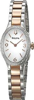 Bulova Women's 98R190 Analog Display Quartz Two Tone Watch