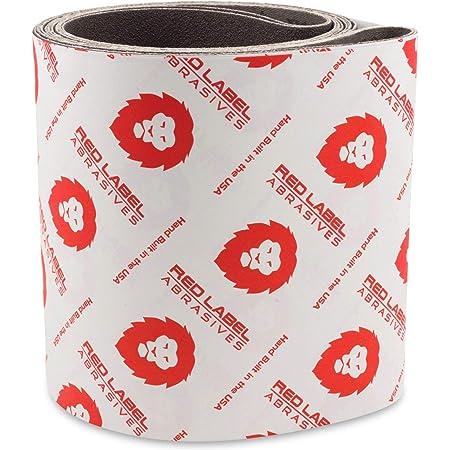 x-WeightA/&H Abrasives 932992x10 6x80 Aluminum Oxide 36 Grit Sander Belt 10-Pack