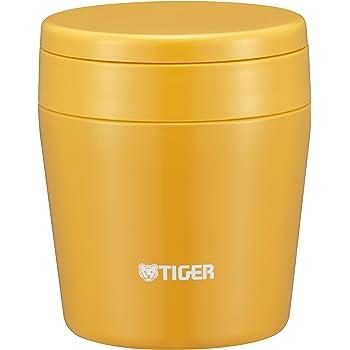 タイガー 魔法瓶 真空 断熱 スープ ジャー 250ml 保温 弁当箱 広口 まる底 サフランイエロー MCL-B025-YS Tiger