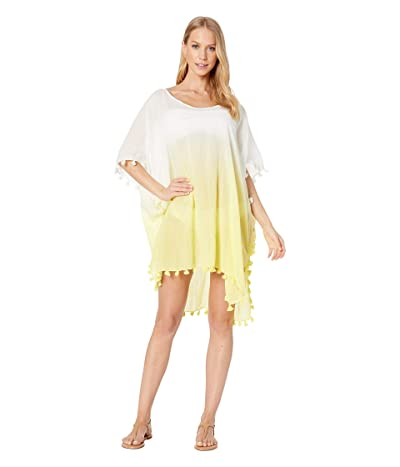 Seafolly Dip-Dye Kaftan Cover-Up (Limelight) Women