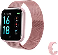 2020 Latest Smart Watch, Fitness Tracker with Temperature/Heart Rate/Sleep/Steps Monitor Compatible for iPhone Samsung And...