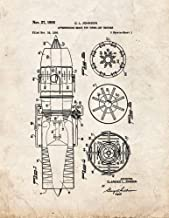 Afterburning Means for Turbo-Jet Engines Patent Print Old Look (16