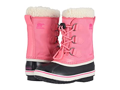 SOREL Kids Yoot Pac Nylon (Little Kid/Big Kid) (Lollipop/Pink Glo) Girls Shoes