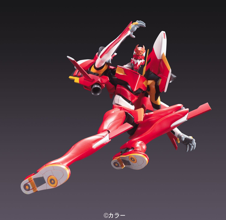Bandai Hobby HG #05 EVA-02 Evangelion: 2.0 Version Evangelion Model Kit, BAN164577