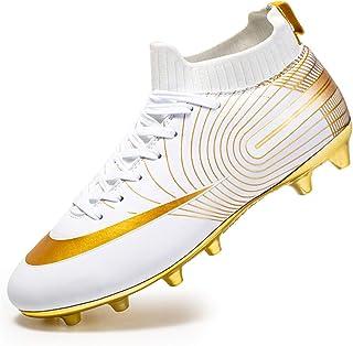 Men's High-top voetbalschoenen Boy's Soccer Atletiek Schoenen Spikes FG/AG Trainers Professionele Sneakers training outdoo...