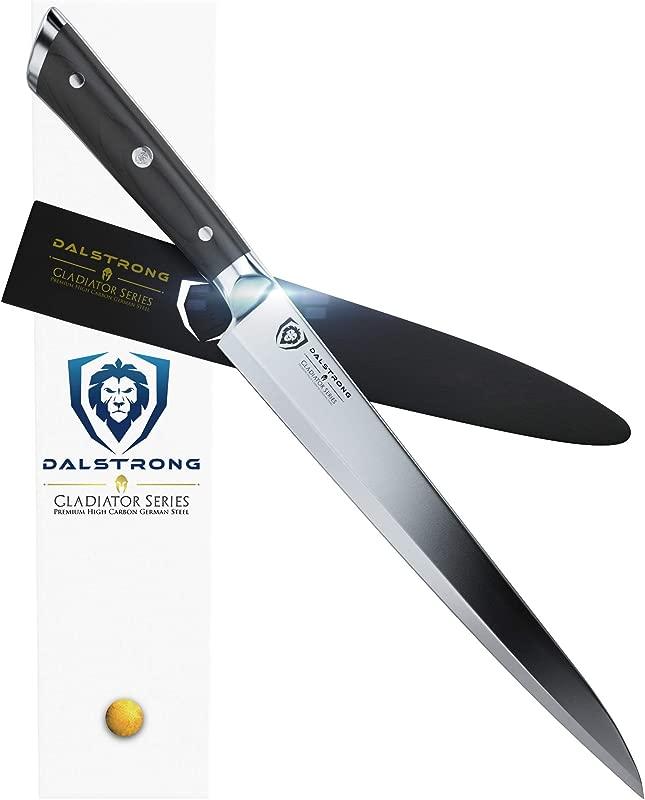 DALSTRONG Yanagiba Knife Gladiator Series 10 5 German HC Steel With Sheath