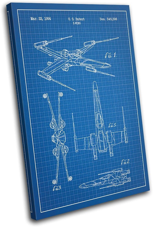 Bold Bloc Design - Star Wars X-Wing Blauprints Movie Greats ... X Wing Schematics on