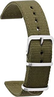 Premium NATO Watch Band Nylon Watch Bands Strap 18mm 20mm 22mm 24mm Nylon Wristband Multiple Colors for Men Women