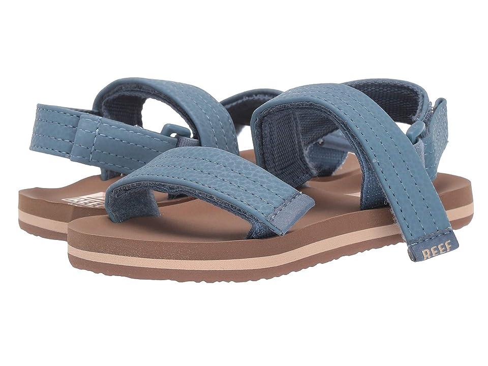 Reef Kids Ahi Convertible (Infant/Toddler/Little Kid/Big Kid) (Tan/Navy) Boys Shoes