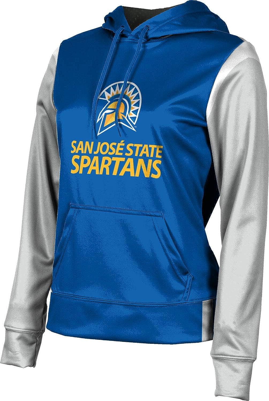 San Jose State University Girls' Pullover Hoodie, School Spirit Sweatshirt (Tailgate)