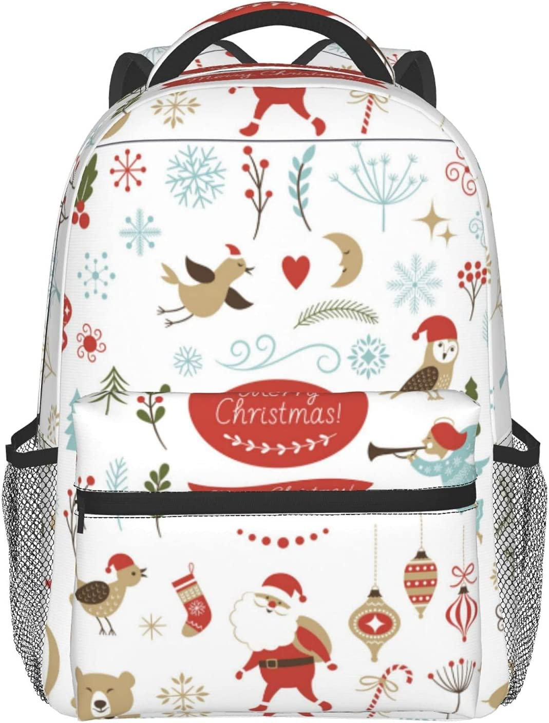 Christmas Graphic Ranking TOP14 Elements depot Bag Laptop Student Waterproof Backpac