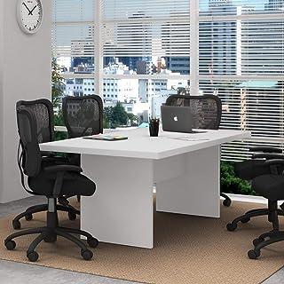 Mesa Para Escritório De Reunião Me4119 Tecno Mobili - Branco