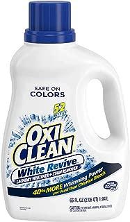 1 Big Bottle 66 oz- Oxiclean White Revive Stain Remover 66 oz (Bigger Bottle)