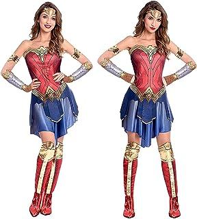 Ladies Spider Superhero Halloween Comic Book Fancy Dress Costume Outfit UK 12-14