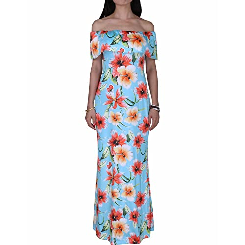 3b1e5c00ea9 BIUBIU Women s Floral Off Shoulder Ruffle Bodycon Long Party Maxi Dress UK  ...