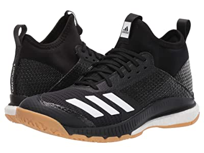 adidas Crazyflight X 3 Mid (Core Black/Footwear White/Gum M1) Women