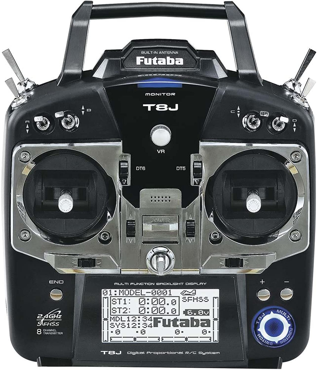 Futaba 8JA 2.4GHZ S FHSS with R2008SB M2 Transmitter