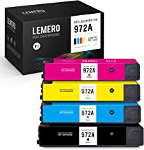 3 Black 972X Remanufactured Ink Cartridge Replacement for HP PageWide Pro 452dn 452dw 552dw 477dn 477dw 577dw MFP P57750DW MFP P55250DW Printer,Sold by TopInk