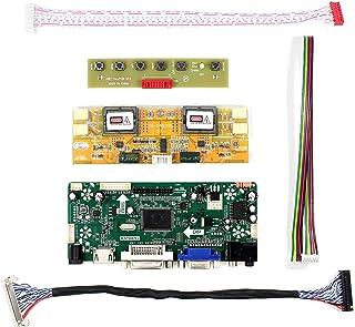 "HDMI+VGA+DVI+Audio Input LCD Controller Board for HSD190MEN4 M170EN06 17"" 19"" 1280x1024 4CCFL 30Pins LCD Panel"
