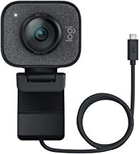 Logitech StreamCam Plus Webcam with Tripod (Graphite)