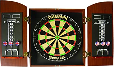Best triumph wellington bristle dartboard and cabinet set Reviews