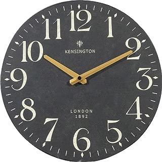NIKKY HOME Silent Quartz Analog Round Wall Clock x 12''