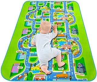 niños Alfombra educativa para el tráfico de la Carretera Alfombra para niños Ideal para Jugar con Aprender y divertirse de Forma Segura para bebés para Dormitorio Duhe