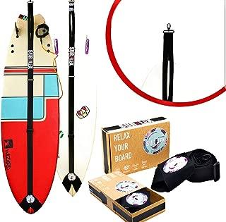 SurFlex ,Surfboard Stand,Original Rack,Surfboard Display Rack,for Indoors and Outdoors,Vertical Modern Surfboard Display!