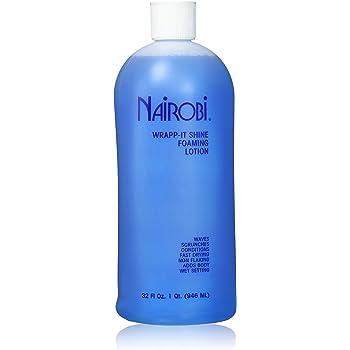 Nairobi Wrapp-It Shine Foaming Lotion, 32 Ounce