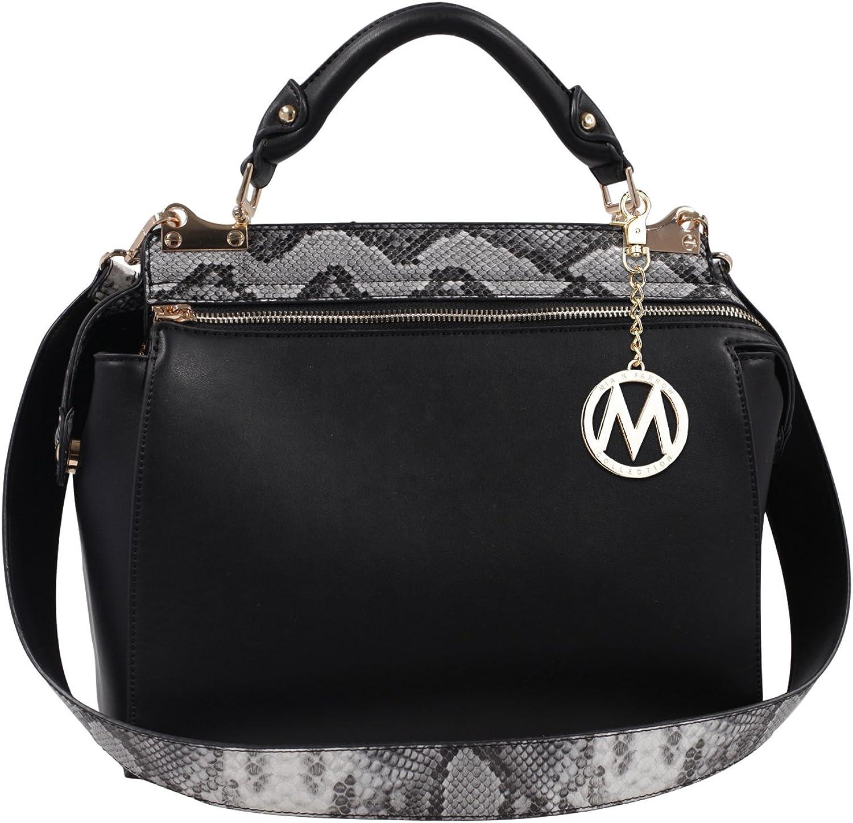 Dedication Mia K. Collection Valentina by Tote Luxury Handbag