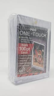 Ultra Pro 100pt Magnetic Card Holder Cases - Holds Thick Baseball, Football, Hockey Cards (Pack of 5)