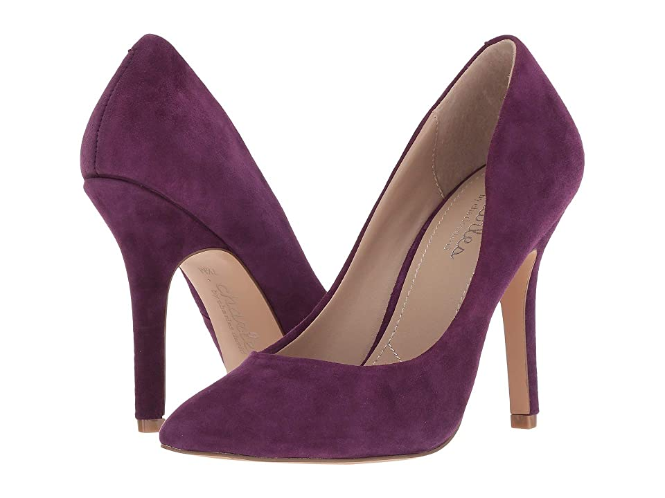 Charles by Charles David Maxx (Regal Purple Suede) High Heels