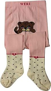 WERI SPEZIALS - Collant per bambini e neonati, colore: Rosa