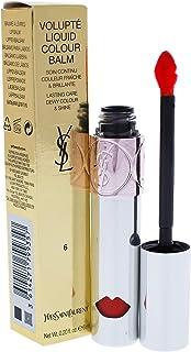 Yves Saint Laurent Volupte Liquid Colour Balm, 6 Undress Me Coral, 0.2 Ounce