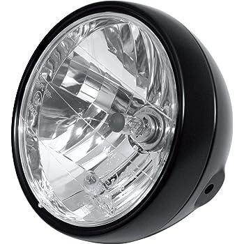 Lamp Housing + Bracket Motorrad H4 Scheinwerfer 7-Zoll-Motorradscheinwerfer mit Lampengeh/äuse und Scheinwerferhalterungen f/ür FXWG FXDWG FXST-Modelle mit 7LED-Scheinwerfer