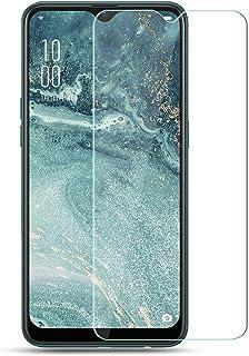 RuiMi OPPO AX7 ガラスフィルム OPPO AX7 液晶保護フィルム 強化ガラスフィルム 最新版 日本製素材旭硝子製 99% の透過性 2.5D ラウンドエッジ加工 極上のタッチ感 0.2mm超薄 硬度9H 耐指紋