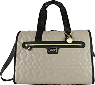 Quilted Heart Carry On Weekender Travel Duffel Bag