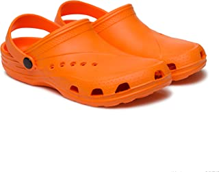 Dune-ast 601 Sabo for Womens Size 10 Orange Waterproof Lighweight with Arch Support
