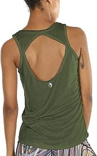 Best green open back shirt Reviews