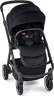 Diono Excurze Mid Size Stroller, Black Midnight